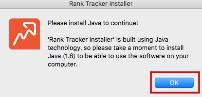 【ランクトラッカー導入手順】Javaを先に更新